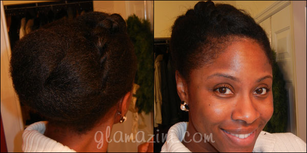 blow dried natural hair styles buns on 1598 | 11.30.5